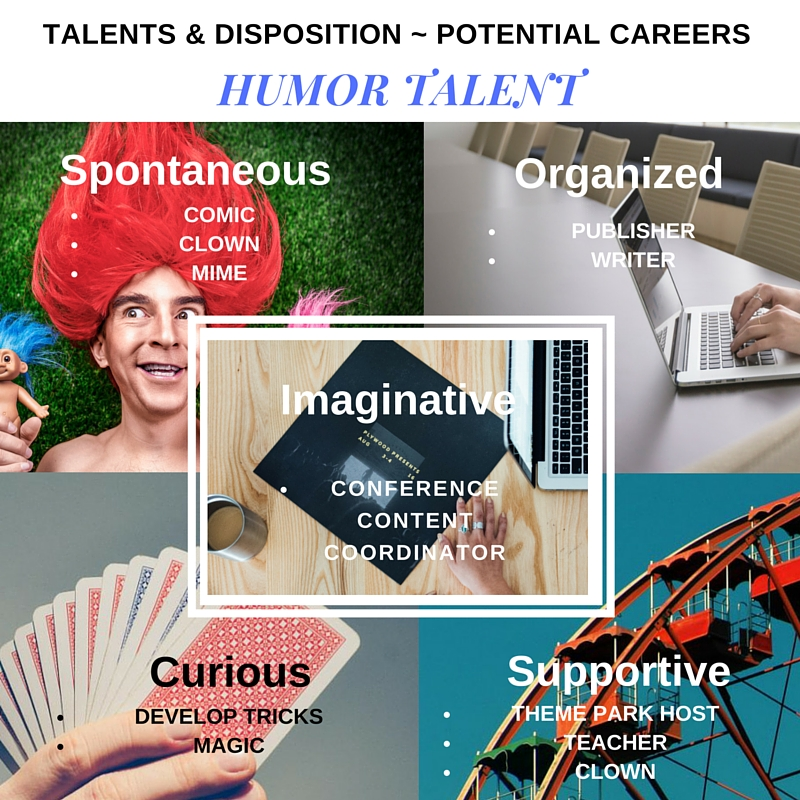 Humor Talent - Disposition - Potential Careers (1)