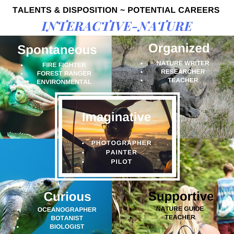Interactive-Nature - Disposition  ~ Potential Careers (3)