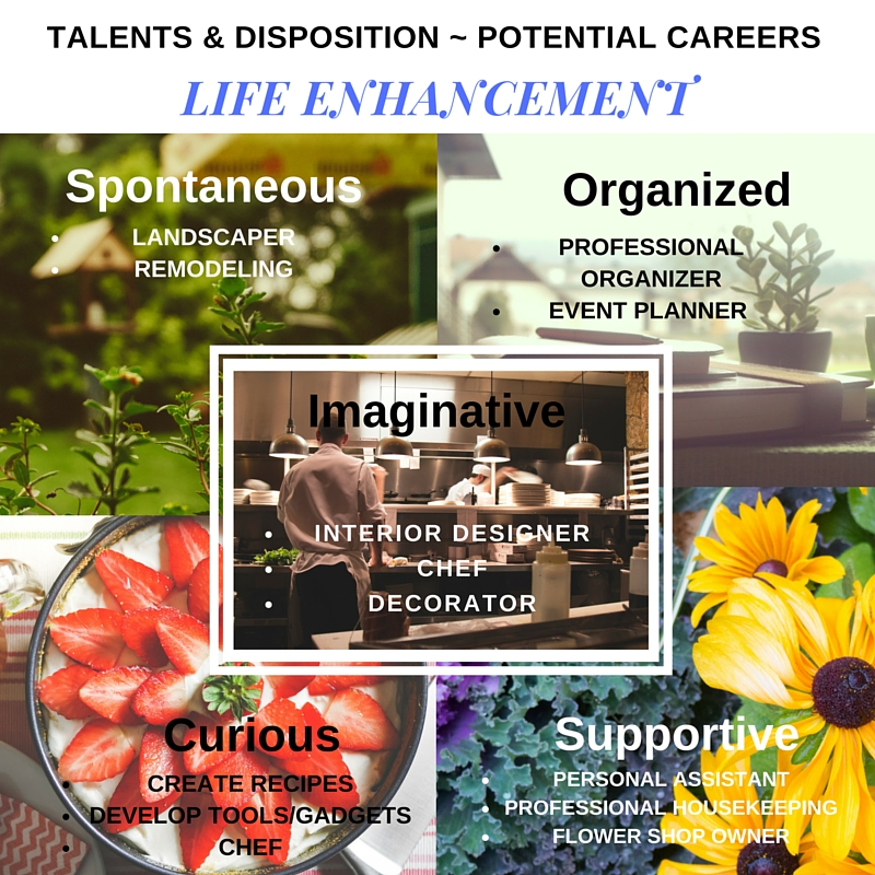 Life Enhancement - Disposition - Potential Careers (1)